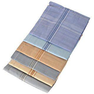 Combo of 5 Cotton Handkerchief