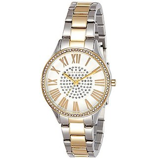 Giordano Quartz White Dial Women Watch-A2031-44