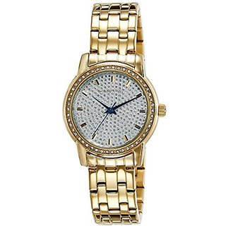 Giordano Quartz Silver Dial Women Watch-2712-22