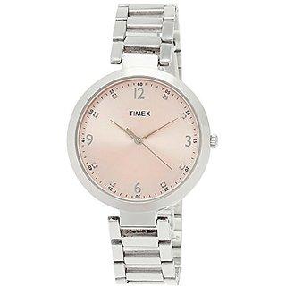 Timex TW000X201 Fashion Analog Pink Dial Women's Watch (TW000X201)