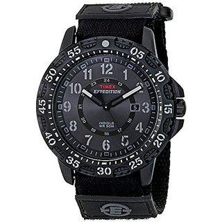 Timex Quartz Black Dial Mens Watch-T49997