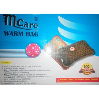 M Care Electric Hot Water Bottle Electric Heating Gel Water Bottle Pad