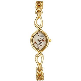 Titan Raga Analog Silver Dial Womens Watch - NE2455YM01