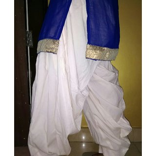 Kunjika collection Cambric cotton 3.5 mtr Patiala Salwar