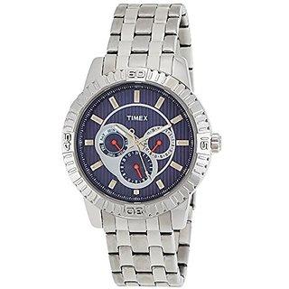 Timex Analog Blue Round Watch -TI000Q30000