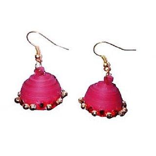 Fashionable Handmade paper earrings for women girls