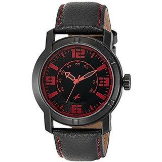 Fastrack Quartz Black Dial Mens Watch-3021NL01
