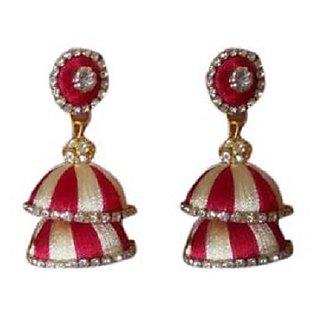 Thread Designer Handmade Earrings For Women