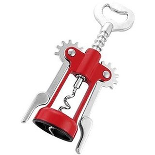 Wine Bottle Opener - Red