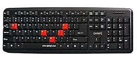 Quantum QHM7403 USB/PS2 Keyboard Black