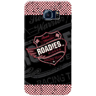 Roadies Hard Case Mobile Cover for Samsung Galaxy S6 Edge+