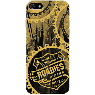 Roadies Hard Case Mobile Cover for   5