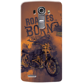 Roadies Hard Case Mobile Cover for LG G4