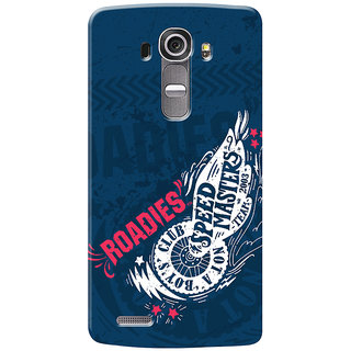 Roadies Hard Case Mobile Cover for LG G4