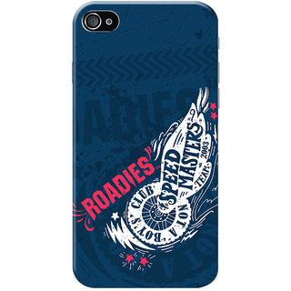 Roadies Hard Case Mobile Cover for   4
