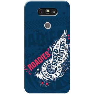 Roadies Hard Case Mobile Cover for LG G5