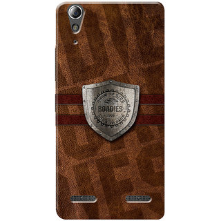 Roadies Hard Case Mobile Cover for Lenovo A6010 Plus