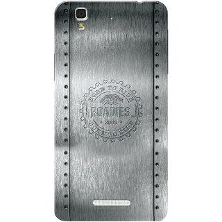 Roadies Hard Case Mobile Cover for Yu Yureka Plus
