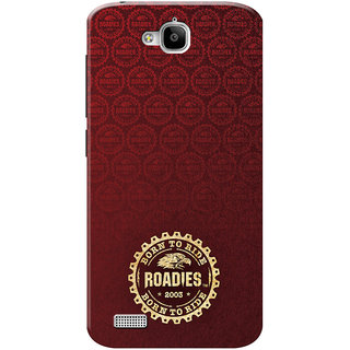 Roadies Hard Case Mobile Cover for Huawei honor Holly