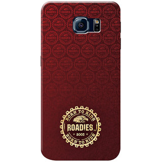 Roadies Hard Case Mobile Cover for Samsung Galaxy S6 Edge