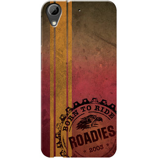 Roadies Hard Case Mobile Cover for HTC Desire 626