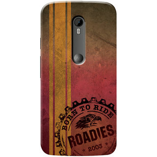 Roadies Hard Case Mobile Cover for Motorola Moto X Style