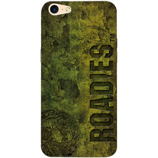 Roadies Hard Case Mobile Cover for Oppo A57