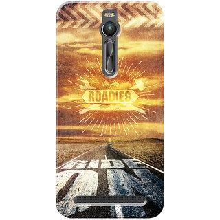 Roadies Hard Case Mobile Cover for Asus Zenfone 2 ZE551ML