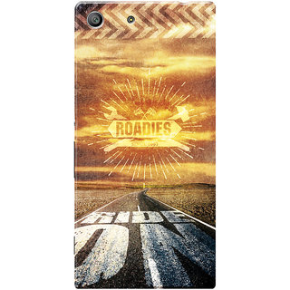 Roadies Hard Case Mobile Cover for Sony Xperia M5