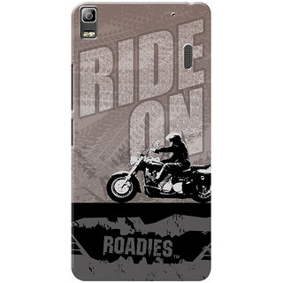 Roadies Hard Case Mobile Cover for Lenovo A7000