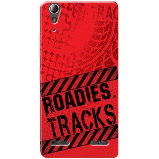 Roadies Hard Case Mobile Cover for Lenovo A6010 Plus