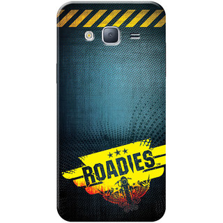 Roadies Hard Case Mobile Cover for Samsung Galaxy J3