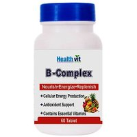 Healthvit B-Complex Fortified With Vitamins Minerals 60