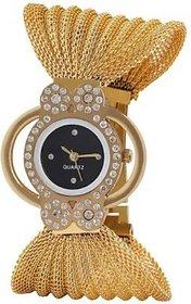 IDIVAS Round Dail Gold Metal StrapMens Quartz Watch For Men