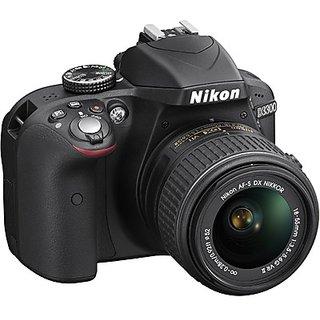 Nikon D3300 DSLR Camera with AF-P DX 18-55 mm F3.5 - 5.6 VR Kit Lens