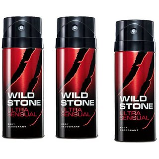 Wildstone Spray Deo For Men 100ml (Set of 3)
