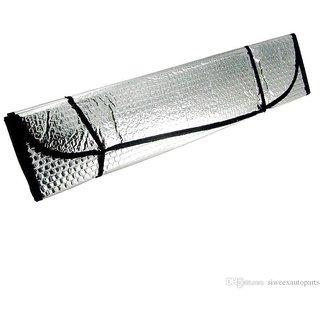 s4d Foldable Metallic Auto Car Sun Visor Reflective Shade Windshield Window Cover