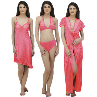 df332d9d3f Buy Arlopa 4 Piece Nightwear Set Online - Get 79% Off