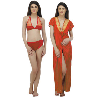 fdb5f5b391 Buy Arlopa Robe With Bra and Panty Online - Get 75% Off