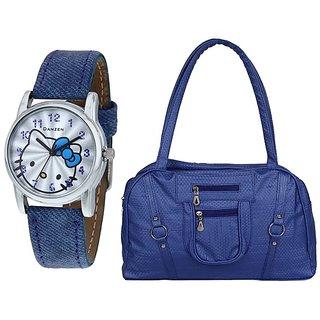 denzen Wrist Watch With handbag-DZLB-468-001
