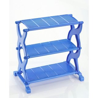 Classic Essentials Multi Purpose 3 layer Shelf - Blue
