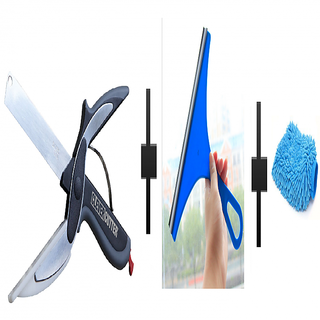 s4d Smart Clever Cutter,plane wiper and free microfiber hand glove one pc colour assorted