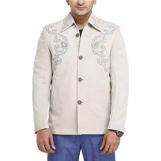 SunnX Men's Clasic Fit Blazer (SA102Off White36)