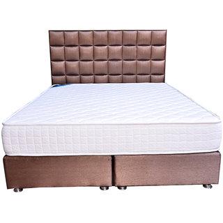 Platinum BedCrystal Spring Mattress75 x 35 x 8 Inch