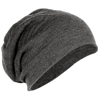 Buy Cool Grey Slouchy Beanie Cap Online - Get 41% Off 04e57782698