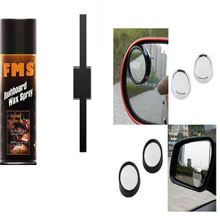 s4d Car Dashboard Polish and blind spot mirror set of 2