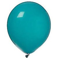 Sky Blue Metallic Latex Balloons (Pack Of 20)