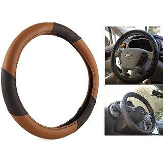 MPI Anti Slip  Brown And Black Steering Cover For Mercedes Benz SLK