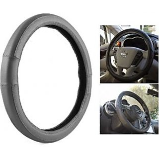 MP Perfect Fit  Grey Steering Cover For Mahindra Supro