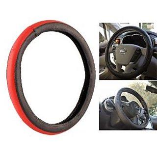 MPI Anti Slip  Red And Black Steering Cover For Mitsubishi Pajero Sport
